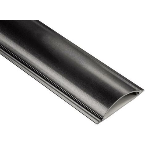 Goulotte de câble Hama 83159 (L x l x H) 1000 x 70 x 21 mm 1 pc(s) noir D21629