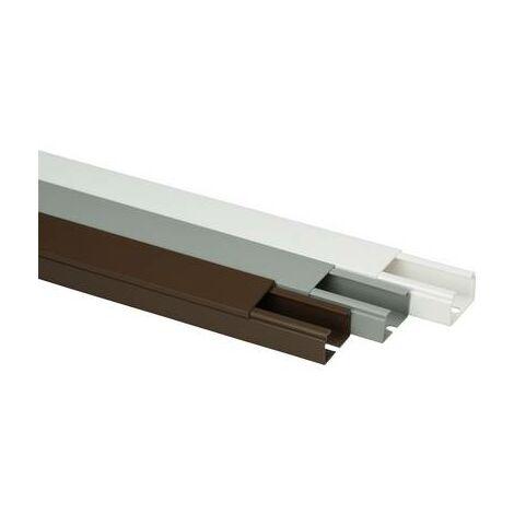 Goulotte de câble Heidemann 09964 (L x l x H) 2000 x 40 x 25 mm 1 pc(s) marron