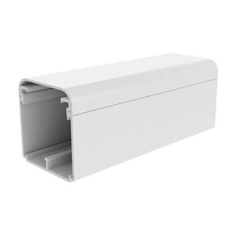 Goulotte de câble KOPOS EKE 60X60 HD gaine technique pour installations électriques (L x l x h) 2000 x 60 x 59 mm 1 pc(s) blanc
