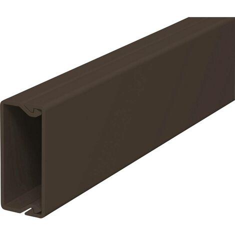 Goulotte de câble OBO Bettermann 6189490 (L x l x h) 2000 x 15 x 40 mm 1 pc(s) marron