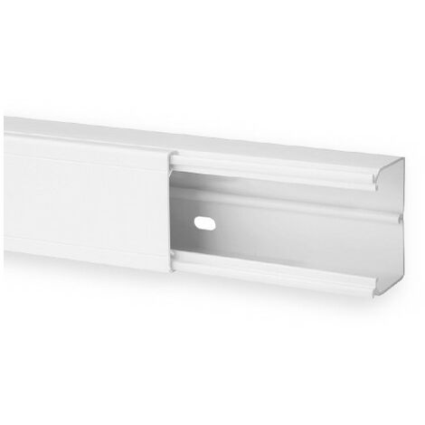 Goulotte de distribution TA-G 60x40mm - Barre de 2m - 1 compartiment - Blanc