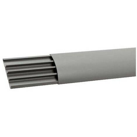 Goulotte de sol PVC 18x75 grise (AK75180)