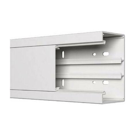 "main image of ""Goulotte dinstallation électrique GGK BR360x110/80alpinweiß 12803 (L x l) 2000 mm x 110 mm blanc pur 1 pc(s)"""