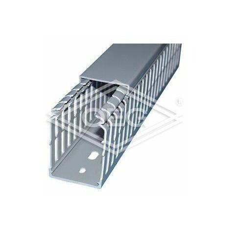Goulotte électrique Kleinhuis SVK8025.1 80 x 25 mm avec couvercle et perçage sol