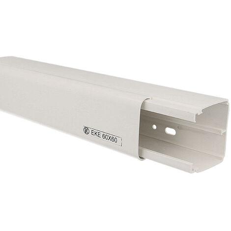 Goulotte électrique PVC 60 x 60 mm KOPOS