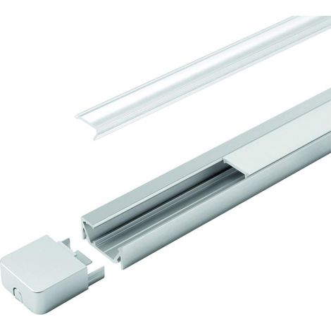 Goulotte LED G-1 clair L 2000 mm, Profil