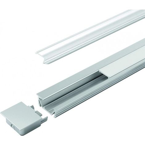Goulotte LED G-2 clair L 3000 mm, Profil
