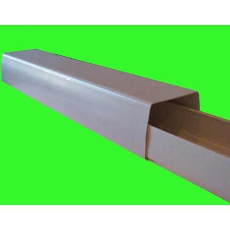 Goulotte Optimal - 110 x 75 mm - Longueur : 2 m