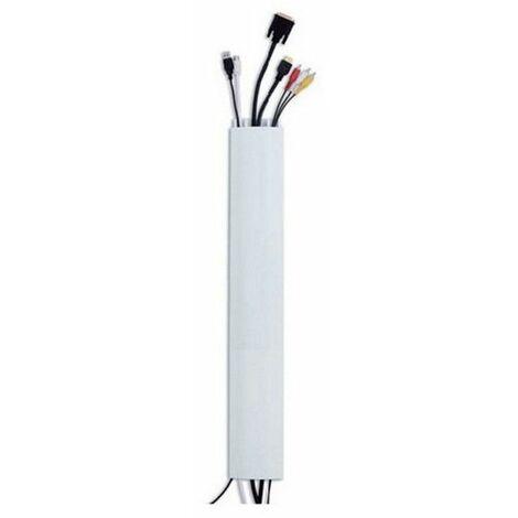 goulotte passe-câbles 110cm blanc - 007978 - erard