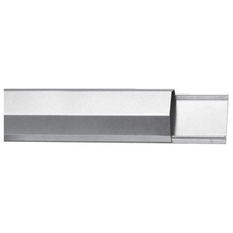 Goulotte passe-cables - aluminium - 50mm x 1100mm - argenté