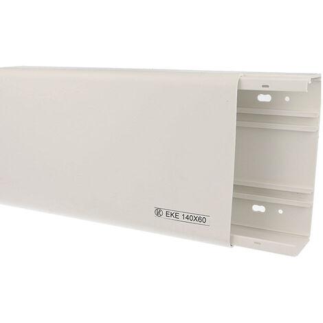 Goulotte PVC 140 x 60 mm - carton de 6m