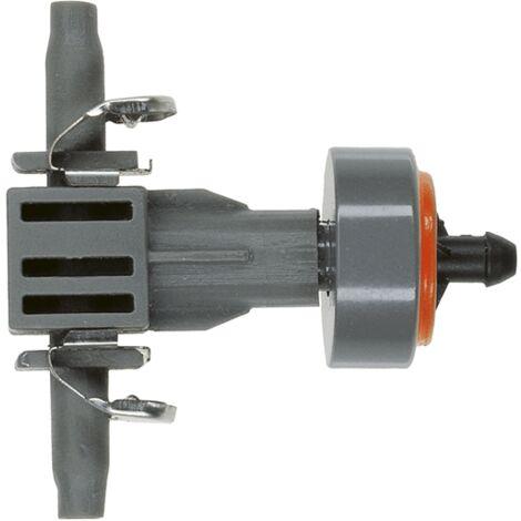 Goutteur en ligne pour tuyau 4,6mm 2 L/H avec régulateur de pression (10 pièces)