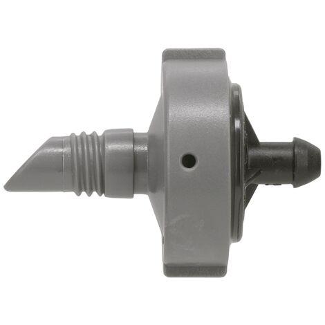 Goutteur pour tuyau 13mm 4 L/H avec régulateur de pression (10 pièces)