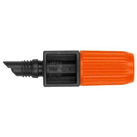 Goutteur pour tuyau diamètre 13mm 0 à 20 L/H 10 pièces