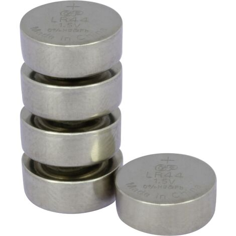 GP Batteries AG13 Knopfzelle LR 44 Alkali-Mangan 110 mAh 1.5V 5St. S161681