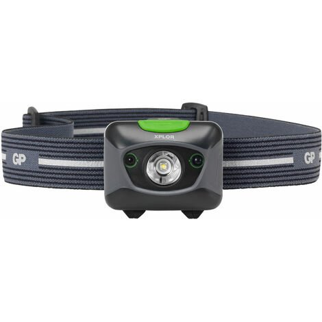 GP Batteries GPACTPHA5000 GP Xplor PHR15 Head Torch Hands Free Task Rechargeable