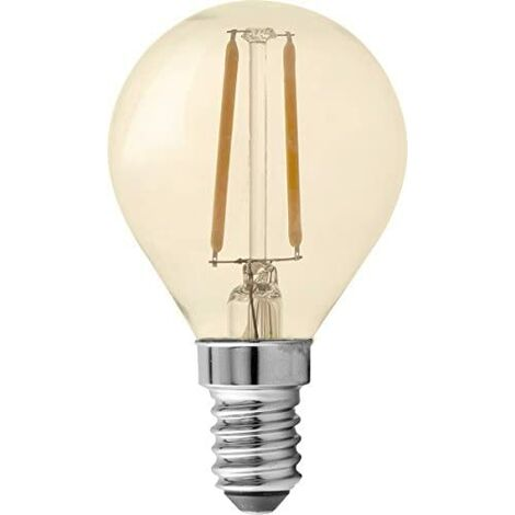 GP Lighting LED Mini Globus oro E14 1,2W (11W)