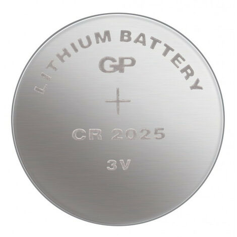 GP Pile LITHIUM CR2025 / 1 pièce (0602025C1)