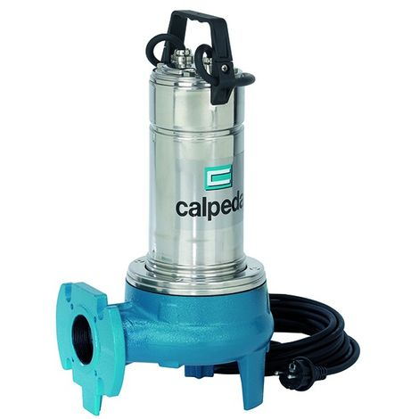 GQV 50-9 - Triphasé de Calpeda - Pompe de relevage eaux chargées