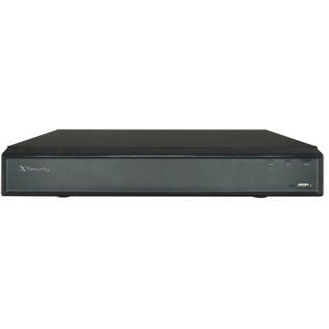 Grabador Dvr 16 cámaras 5n1 4mpx/1080p Alarma X-security Xs-xvr6116a-h con detección de rostros