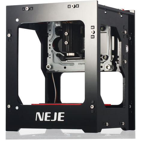 Grabador laser 2000mW 405nm, maquina de grabado inteligente AI 405nm