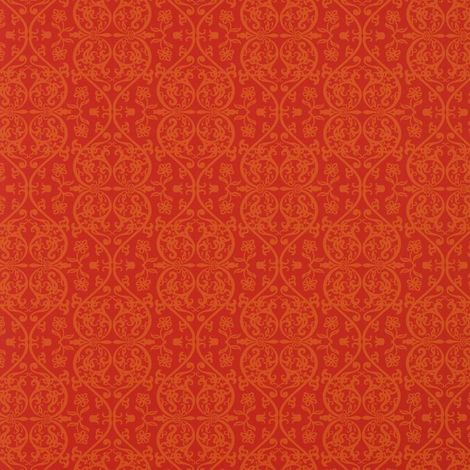 Grace Red Orange Damask Wallpaper Graham Brown Paste The Wall Marcel Wanders
