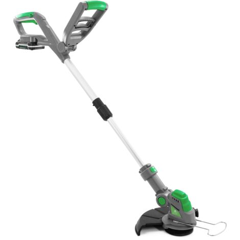 """main image of """"Gracious Gardens 18V Li-ion Cordless Strimmer Trimmer Complete with 10 Spare Blades"""""""