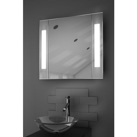 Gracious LED Illuminated Bathroom Cabinet With Sensor & Shaver k17