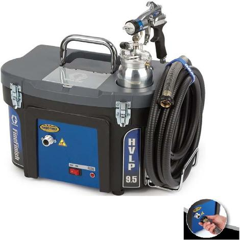 Graco - Station de Peinture HVLP TurboForce 9.5 Professionnel (0.7 bar)