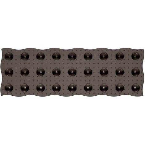 GRAF Losa de cama MAXI, juego de 4, de plástico, 70x24cm el recubrimiento ideal para todas las camas del jardín o del invernadero.