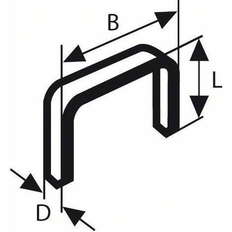 Graffette filo fine tp 53 11,4x0,74x6