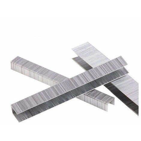 4000 Punti Metallici 18mm x 18mm Graffe Larghe x Fissatrice Pneumatica