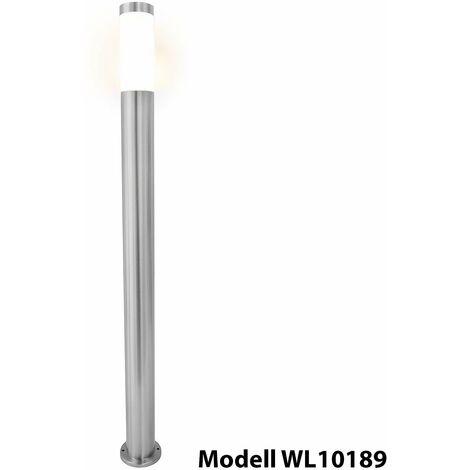 Grafner 100cm Edelstahl Wegleuchte WL10189 Gartenlampe Einzeln