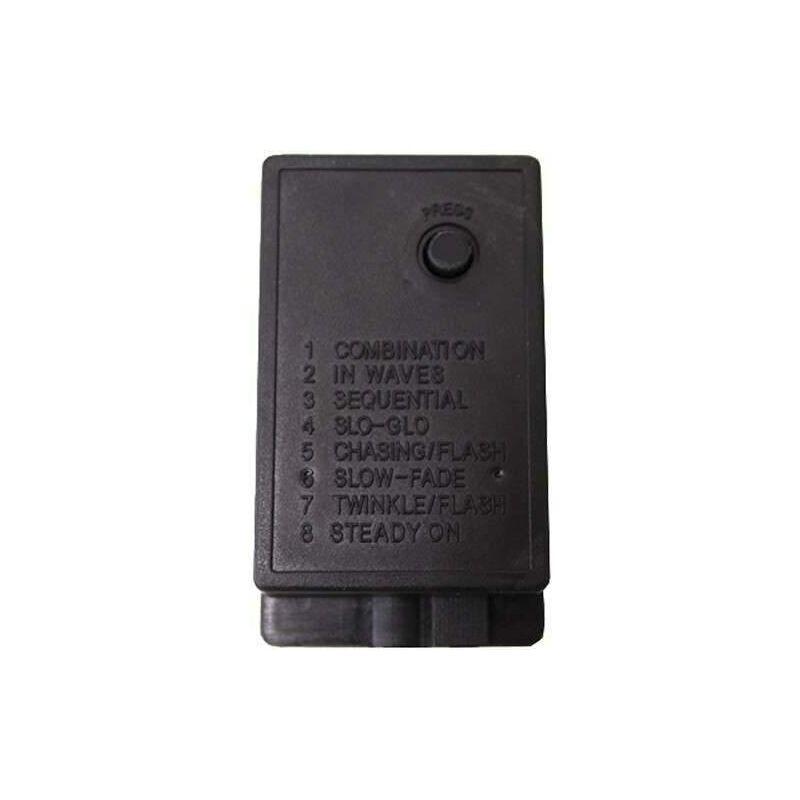 Stromadapter LED Lichtschlauch Anschlussset Schlauch 13mm Durchmesser Endkappe