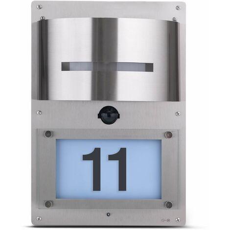 60w Innen Außen Leuchte IP44 E27 Elektro GRUNDIG Edelstahl Wandleuchte 230V max