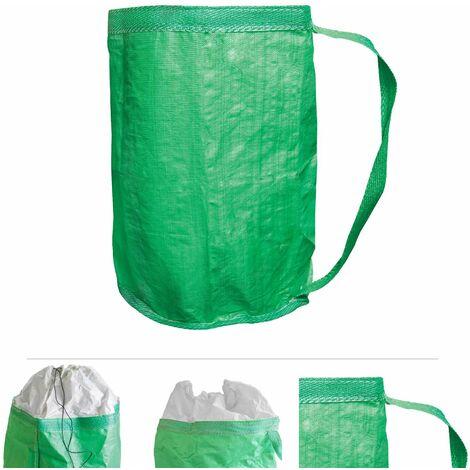 Grafner Gartenabfallsack 280L mit Umhängegurt max. 100 Kg Traglast Gartentasche Laubsack 2er Set