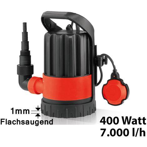 SIMER Flachsauger Flachsaugpumpe Tauchpumpe mit Schlauch 5m Jung Pumpen