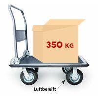Grafner Plattformwagen Tragkraft 350kg Transportwagen Lagerwagen Transportkarre