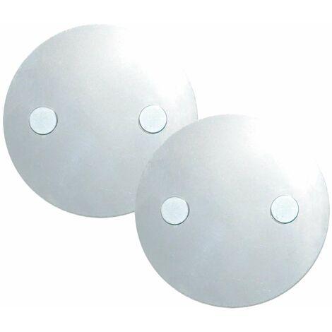 Grafner® Rauchmelder Magnet Pads 2 Stück