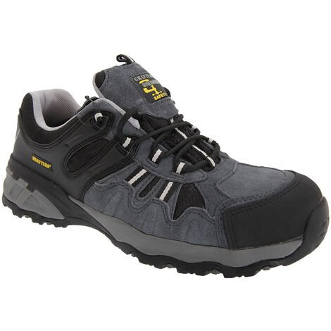 Grafters Mens Fully Composite Non-Metal Safety Trainer Shoes