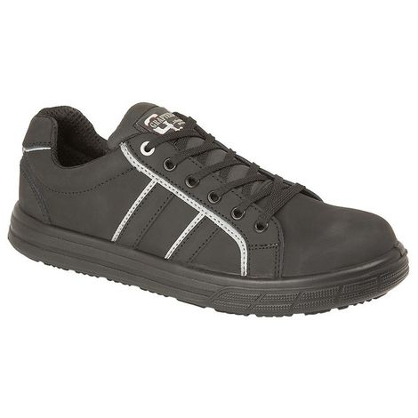 Grafters Mens Nubuck Skate Style Safety Trainer