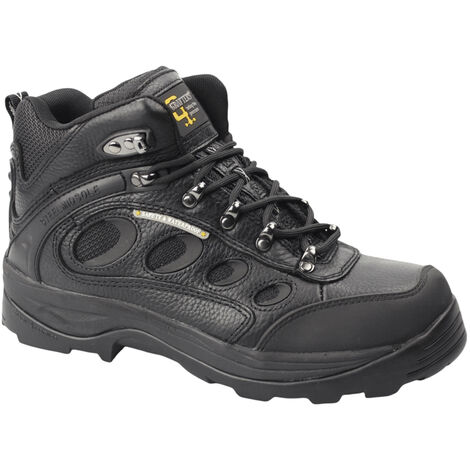 Grafters Mens Safety Hiker Type Toe Cap Boots