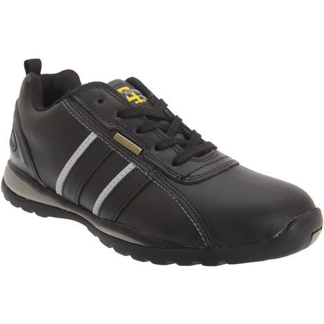 Grafters Mens Safety Toe Cap Trainer Shoes