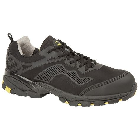 Grafters Mens Safety Trainer Shoe Wide Fit