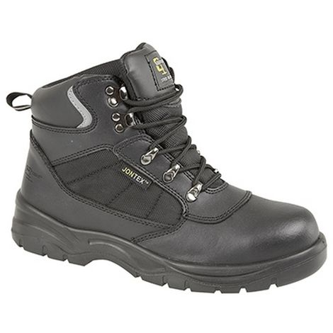 """main image of """"Grafters Mens Safety Waterproof Hiker Type Toe Cap Boots"""""""