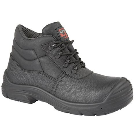 Grafters Mens Super Wide EEEE Fitting Safety Chukka Boots