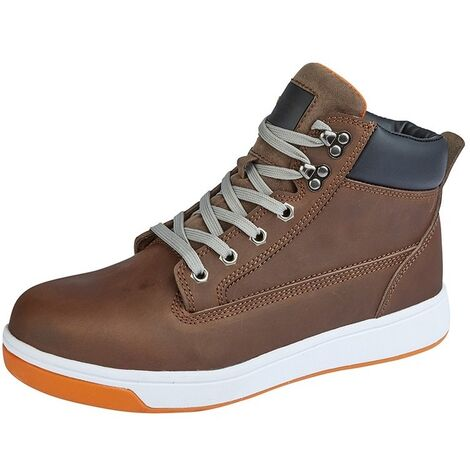 Grafters Mens Toe Capped Safety Trainer Boots