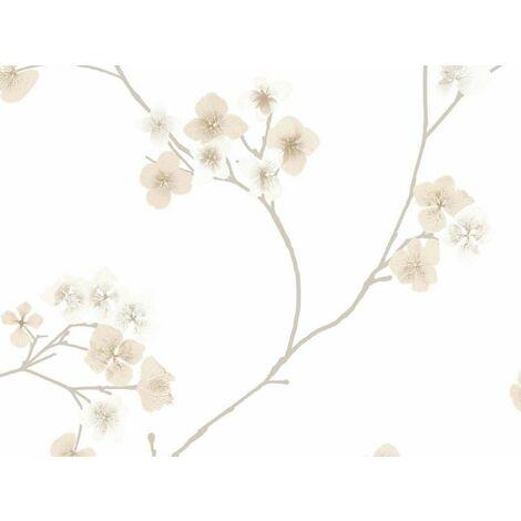 """main image of """"Graham & Brown Papier peint en vinyle collection Innocence Crème 13–284"""""""