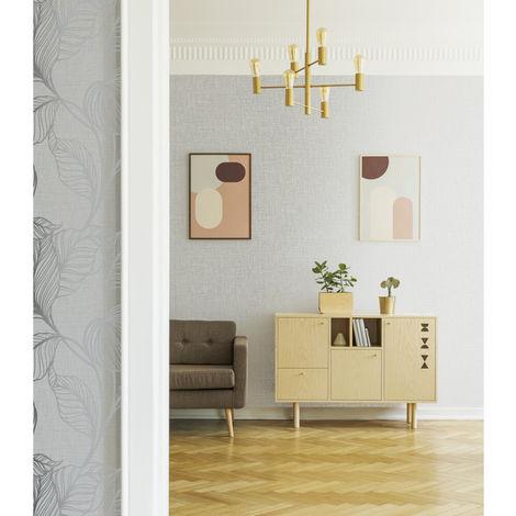 Graham & Brown Wallpaper 111292 Royal Silk Moonstone