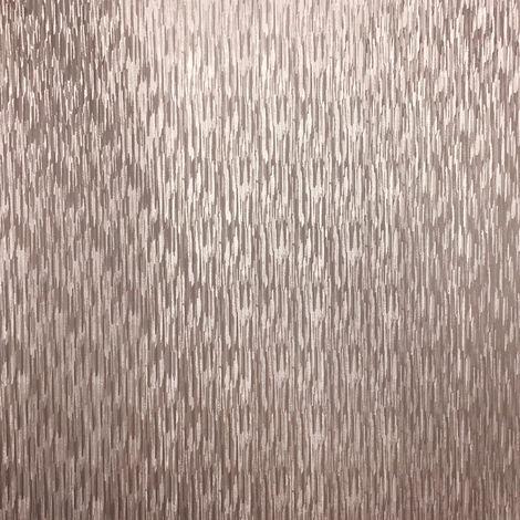 Graham & Brown Wallpaper Silken Stria Rose Gold 106457
